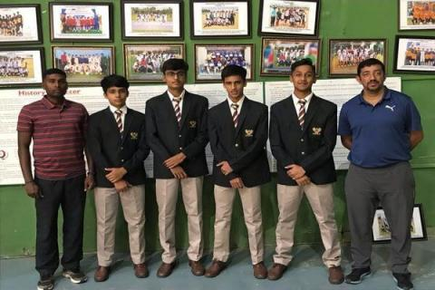 4 students chosen for IBSO under 17 football team
