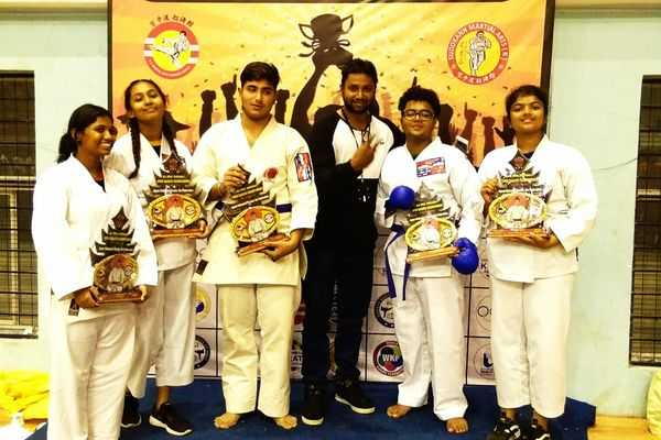 Indus Schools participate at the All India Hakuakai Open Karate Championship