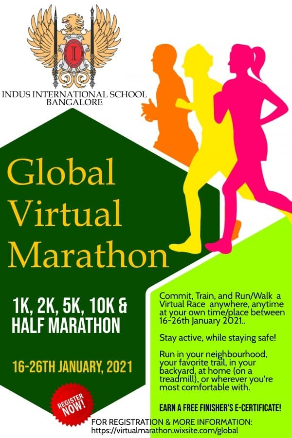Global Virtual Marathon - Eagle Cup 2.0