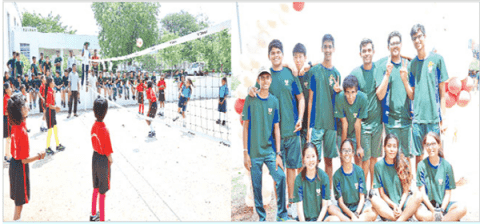 Community sports meet - 2018 for govt school students
